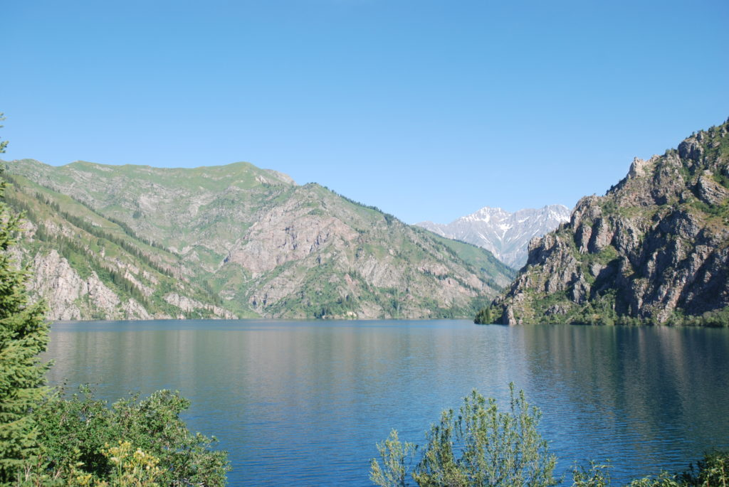 Sary Chelek Lake in Jalal-Abad region