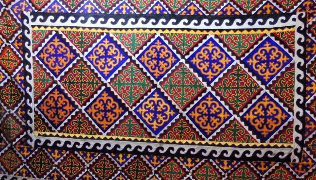Tapis traditionnel kirghize